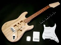 super lightweight strat style kit rosewood or maple