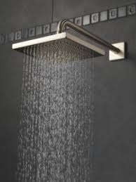 rain forest shower head. delta 57740-ss rainfall shower head reviews offer a combination of affordability and contemporary sleek design with high quality features. rain forest
