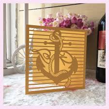 online get cheap ocean wedding invitations aliexpress com Wedding Invitations Fast And Cheap 50pcs free fast shipping seaman design laser cut wedding invitation card ocean style various colors top quality Printable Wedding Invitations