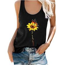 Actloe <b>2020 Womens Solid</b> Round Neck Ribbed Tank Tees Basic ...