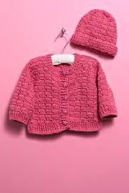 Free Crochet Baby Sweater Patterns Stunning Free Crochet Pattern For A Baby Sweater And Hat ⋆ Knitting Bee