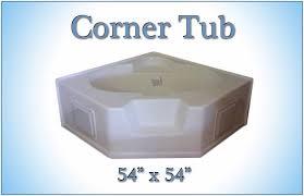 mobile home corner tub