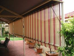 image of outdoor bamboo shades target