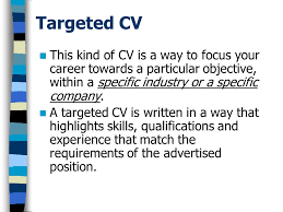 skills and qualifications cv preparation interview skills ppt video online download