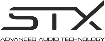 Znalezione obrazy dla zapytania stx advanced audio technology logo