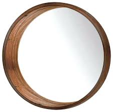 wall mirrors wood wall mirrors best of round popular photo framed uk