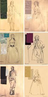Costume Design Hamilton Costume Renderings For Hamilton By The Costume Designer