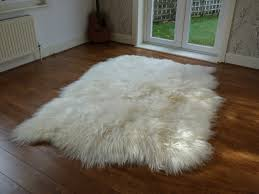 dazzling design large fur rug imposing decoration icelandic sheepskin rug