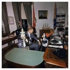 john f kennedy oval office.