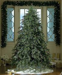 Artificial Prelit Christmas Trees  75u0027 Downswept Hunter Fir Pre Fake Christmas Tree Prices