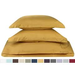 duvet cover for a duvet insert comforter king size camel gold solid color