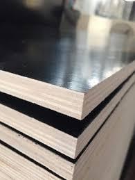 materials poplar wood. (6-30mm) Poplar / Hardwood /joint Core Black Film Faced Plywood Construction Materials Wood T