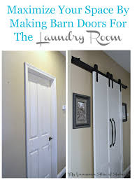 Making A Barn Door Barn Doors For The Laundry Room