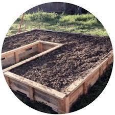 diy pallet garden bed sustaility