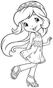 Small Picture Strawberry Shortcake Coloring Pages 11002 Bestofcoloringcom
