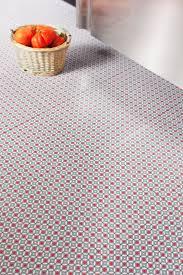 red stars vinyl flooring