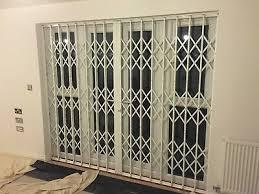 patio security grille french door