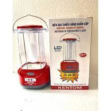 Đèn sạc chiếu sáng khẩn cấp Kentom KT 3200PL (Đỏ) bóng led giá cạnh tranh