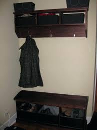 Hall Coat Rack Bench entryway coat rack proportionfit 80