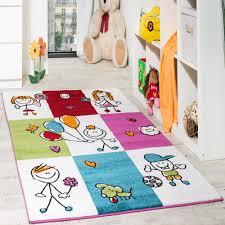 Kinder Teppich Fröhliche Kinder Mehrfarbig Kinder Teppiche