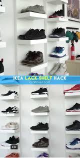 2 ikea lack shelf
