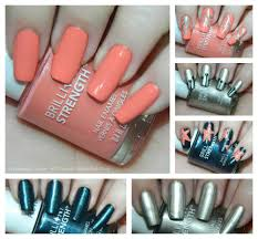 Revlon Brilliant Strength Nail Polish Swatches & Nail Art + $50 ...