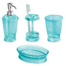 Julia Knight Aqua Bath AccessoriesAqua Colored Bathroom Accessories