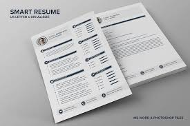 Smart Resume Enchanting The Smart CV Resume Julian Resume Templates Creative Market