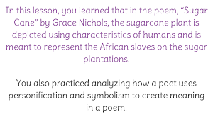 lesson analyzing personification and symbolism and how they  lesson 2 analyzing personification and symbolism and how they contribute to meaning in a poem learnzillion