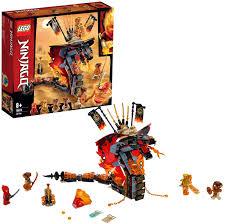 Lego 70674 NINJAGO Feuerschlange, Spielzeug für Kinder mit 4 Minifiguren,  Meister des Spinjitzu Spielset: Amazon.de: Spielzeug