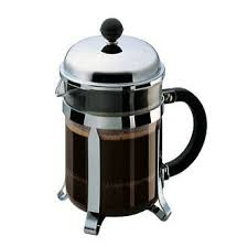 The frame, made of steel, undergoes several chrome plating processes to obtain a durable shiny surface that will last for many years of intense use. Bodum Chambord 4 Cup Chrome French Press Coffee Maker For Sale Online Ebay