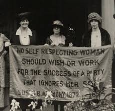 """susan b anthony dauson stimpson gagnon """"no self respecting w should wish or work for the success of a party that ignores her sex """" susan b anthony"""