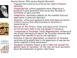 evolution theories charles darwin