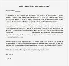 Sample Welcome Letter Fascinating Business Partnership Letter Lovely Proposaltter Template Josh