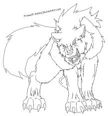 Anime Wolf Coloring Pages Wolf Coloring Pages Printable Best Anime
