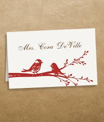 wedding table cards template love birds place cards template download print
