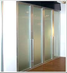 glass closet door frosted glass doors best closet door ideas to spruce up your room tempered