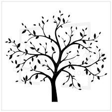 family tree stencil