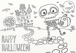 Small Picture Halloween Coloring Pages Printable Free diaetme