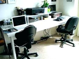 two person computer desk desks 2 ikea