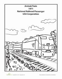 Thomas the train s christmas day15f5. Train Coloring Pages Education Com