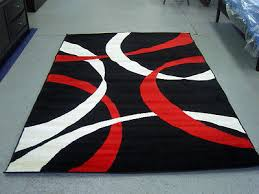 red black and white area red and black area rug fresh area rugs 8x10