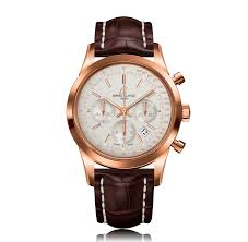 mens breitling watches the watch gallery breitling transocean automatic rose gold silver dial mens watch rb015212 g738 740p