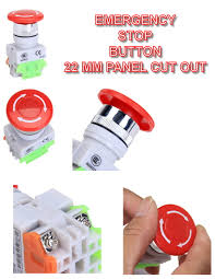 aecme for petrol engine automatic generator control modules emergency stop button
