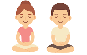 Image result for mindfulness cartoon