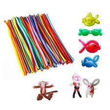 100 <b>Pcs Lot</b> Colors Assorted Color <b>Magic Long</b> Balloon Modelling ...