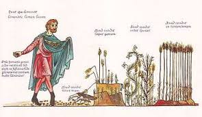 the parable of sower. Exellent Parable The Parable Of The Sower As Illustrated In Hortus Deliciarum Compiled By  Herrad Landsberg At Hohenburg Abbey Alsace 12th Century To Of