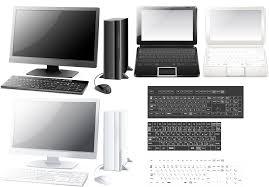 デスクトップパソコン Gahag 著作権フリー写真イラスト素材集