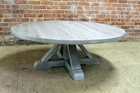 grey wash wood coffee table cur tables within round white washed end square