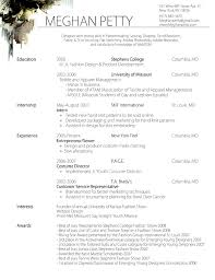 Sample Resume Fashion Designer - Google Search | Supplies